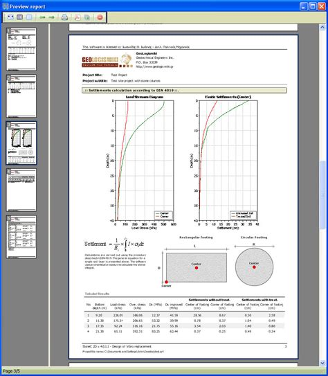 granite layout software stonec v 4 0 stone columns software geotechnical design