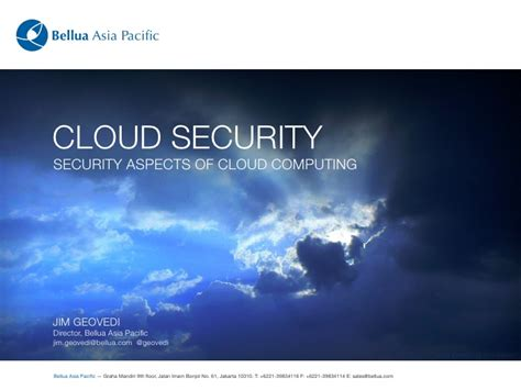 cloud security security aspects of cloud computing
