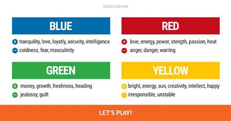 this color preference quiz will determine your dominant personality