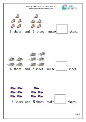 printable math worksheets reception additions worksheets for reception free advice resources