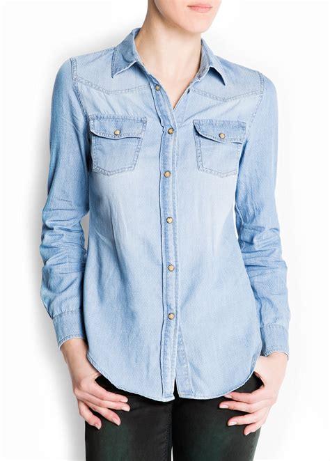 Denim Shirt denim shirt mango usa