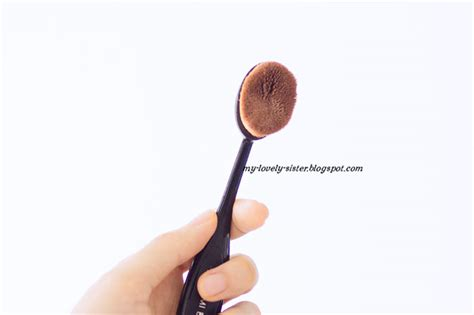 Kuas Make Up Wajah Oval Blending Brush Oval Brush Kuas Oval 1 my lovely a with