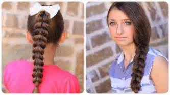 easy hairstyles for hair pull through braid easy hairstyles cute girls hairstyles