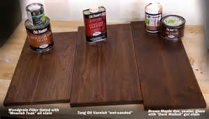 Here are three nice ways to help give walnut its best finish possible