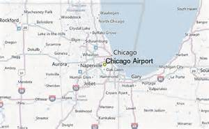 chicago map with airports chicago airport weather station record historical
