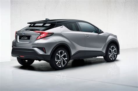 production toyota c hr compact crossover looks sharp in
