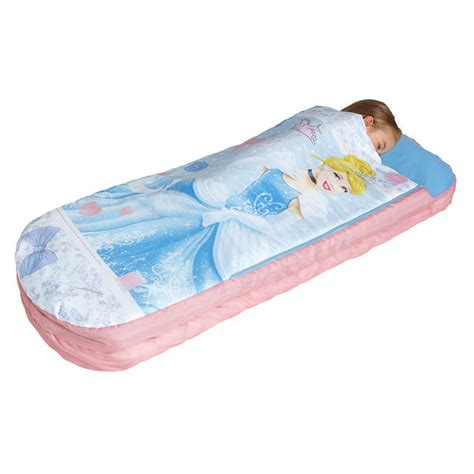 blow up toddler bed kids readybeds all in one inflatable bed sleepover camping bedroom free p p ebay