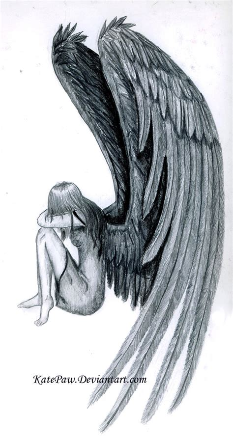 fallen angel tattoo designs free fallen design for