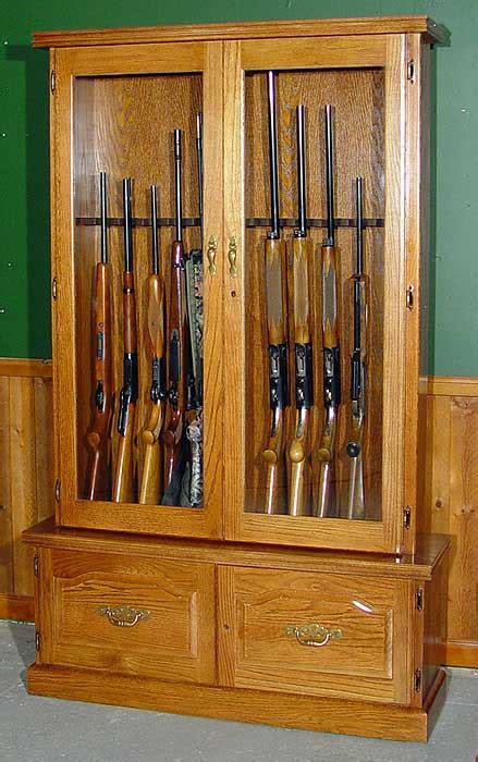 cheap gun cabinet plans  woodworking