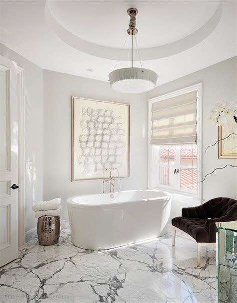 glamorous bathroom ideas statuary marble contemporary bathroom on madison