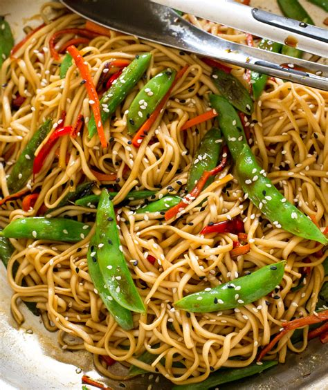 vegetables lo mein 20 minute vegetable lo mein the recipe critic