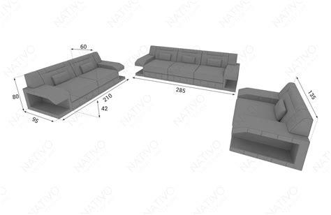 divano 2 posti tessuto divano in tessuto a 2 posti matis con illuminazione a led