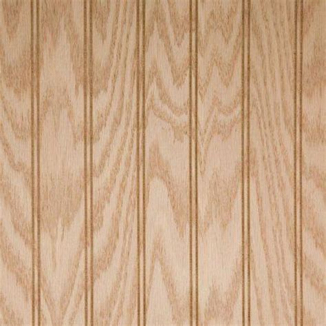 4x8 Wainscoting Wood Paneling Beadboard Oak Veneer Unfinished
