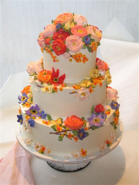 Decorating Cakes At Home Cupcake Cafe Gallery Wedding Cake Nyc Flowers Jpg