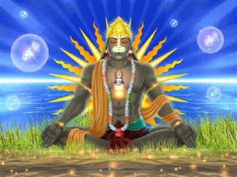 gif wallpaper hanuman touching hearts hindu gods animated gif