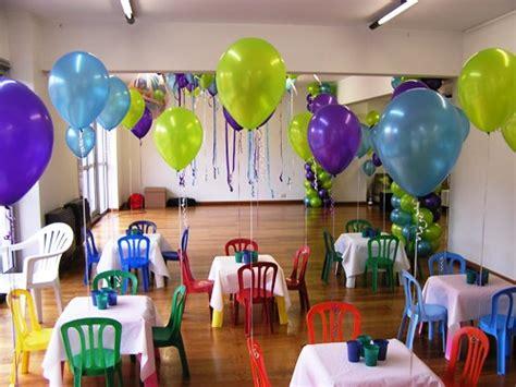 como decorar con globos con gas helio decorar con globos sin helio imagui