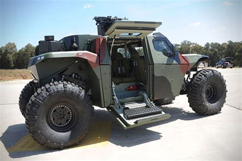 Armored Jeep Combat Guard 4x4 Armored Vehicle Hiconsumption