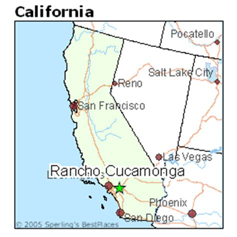 california map rancho cucamonga best places to live in rancho cucamonga california