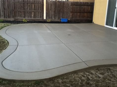 inspiring concrete patio finishes 9 broom finish concrete