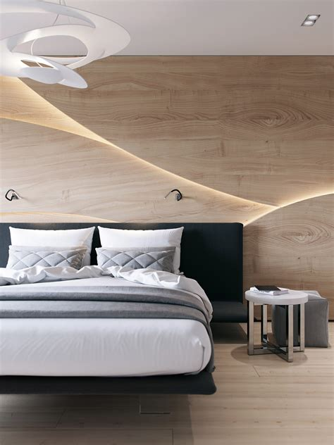 Bedroom Wood Design Wooden Wall Designs 30 Striking Bedrooms That Use The Wood Finish Artfully