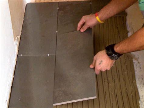 install  plank tile floor  tos diy