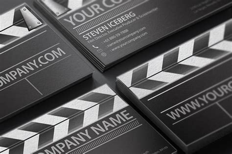 filmmaker business cards templates director business card business card templates on