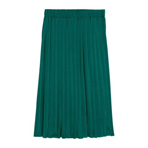 h m h m pleated midi skirt from eatshopnsleep s