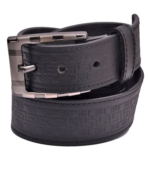 cowboy black leather belt buy at low price in