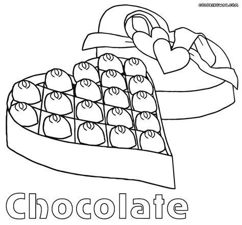 Chocolate Coloring Pages Coloring Pages To Download And Coloring Pages Chocolate