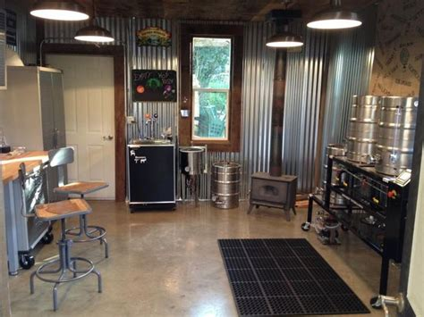 a workshop converted to brewery home brew brew