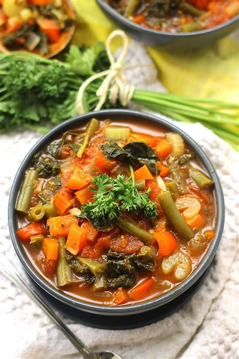 Detox Soup Vegetarian by Healthy Detox Soup Recipe Dishmaps