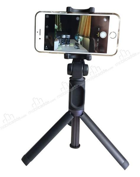 Tripod Lu xiaomi orjinal tripodlu kumandalı bluetooth selfie 199 ubuğu