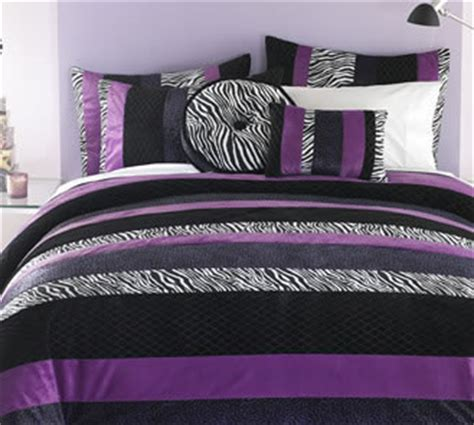 Purple Zebra Print Bedroom Decor Teen Bedroom Bedroom Ideas For Teens Bedding And Decor