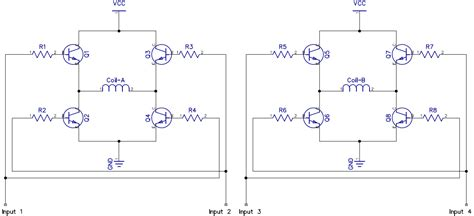 circuito driver transistor bipolar transistor bipolar driver 28 images stepper motor driver scematics diodes bipolar