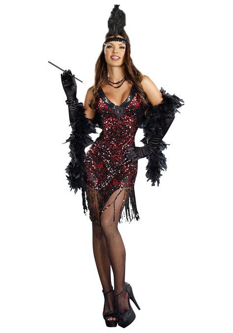 costume flapper flapper roaring costume ideas 1920s era costumes women s dames like us flapper costume