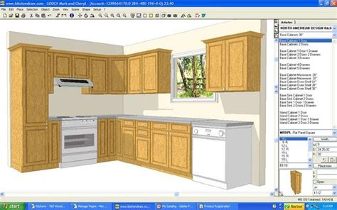 free kitchen design program pdf diy cabinet plans software cabin