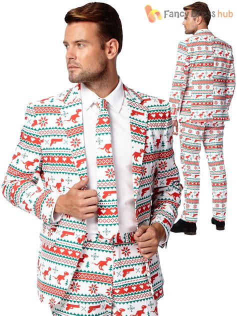 suit for christmas party mens opposuit festive oppo suit