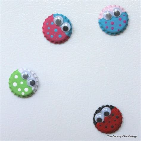 diy bottle cap magnets bottle cap big magnets diy craft supplies acrylic paint