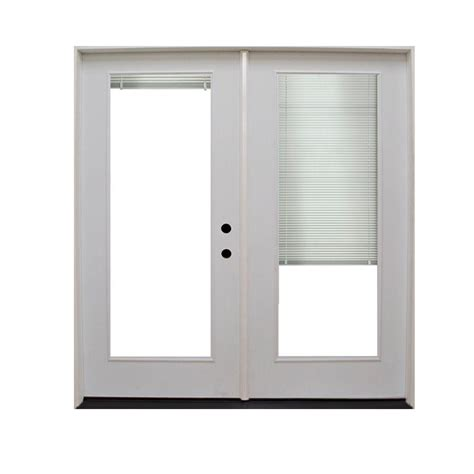 inswing patio door left hinges or right hinges jeld wen 60 in x 80 in white right inswing steel