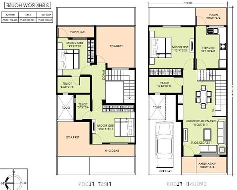 row house plans row house plans with photos