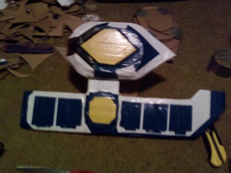 How To Make A Duel Disk Out Of Paper - leo rua duel disc by sackerhale on deviantart
