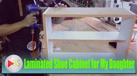 youtube membuat lemari cara membuat lemari sepatu anak decosheet hpl youtube