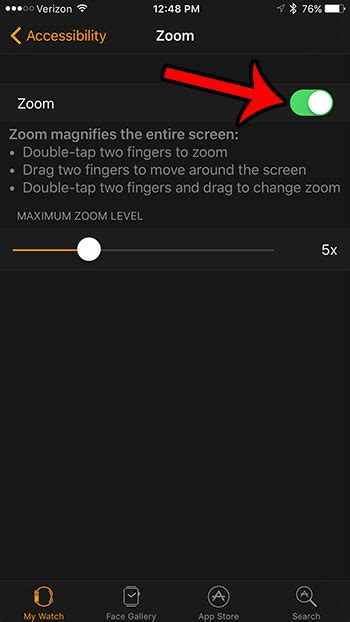 enable zoom   apple  solve  tech
