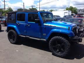 Blue Jeep Jk Jeep Wrangler Polar Edition Afterfx Customs