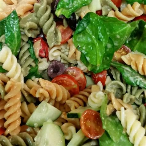 easy cold pasta salad easy cold pasta salad photos allrecipes com