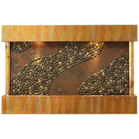 Indoor Copper Sycamore Springs Copper Indoor Water Wall Cool