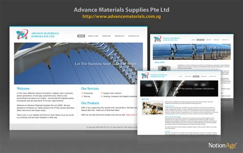 themes material ltd advance materials supplies pte ltd ams notion age