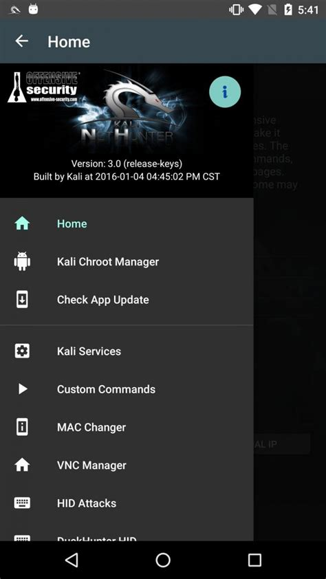 kali linux android kali linux nethunter 3 0 android mobile testing platform out now