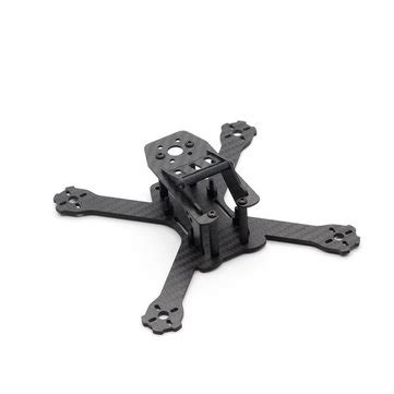 Rctimer Beerotor 160mm Carbon Fiber Fpv Racer Frame ggt150 160mm 2 5mm arm thickness carbon fiber frame kit for rc multirotor fpv racing drone sale