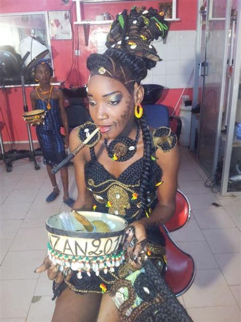 Tresses Sénégalaises Modèle Tresse Africaine